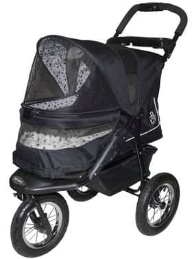 Pet Gear No-Zip NV Pet Stroller, Zipperless Entry