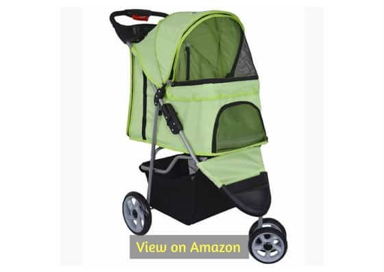 Vivo Three-Wheel Pet Stroller