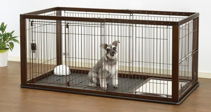 If you love the idea of kennel-furniture, but your décor tends toward the  tropical, consider this indoor pet home. Crafted from rhino wicker, ...