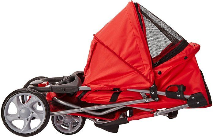 Paws & Pals 3 Wheel Folding Travel Carrier