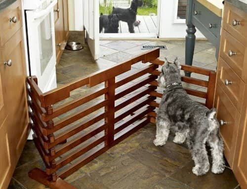 Wooden Pet Gate n Crate