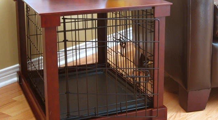 Wooden pet Crate