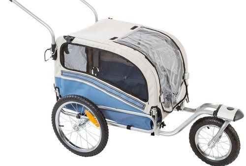 2 in 1 Dog Stroller & Bicycle Trailer