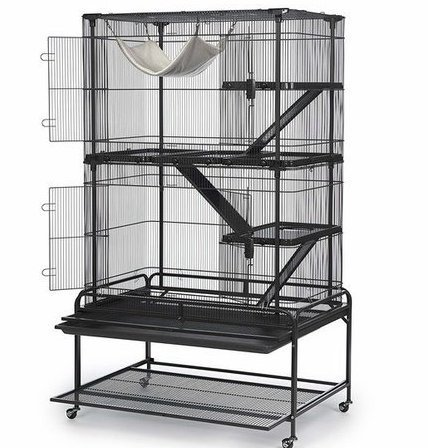 Prevue Pet Products dark gray cage