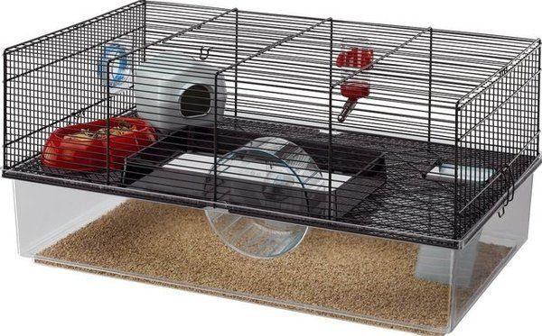 ferplast hamster cage black